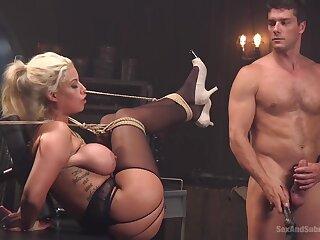 Hot popular MILF Bridgette B bdsm porn video