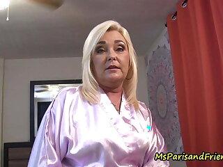 Miss Paris Rose hot mature stepmom