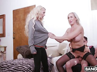 FFN threesome on every side kinky blondes Brandi A torch for plus Kenzie Reeves