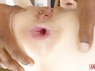 Haymaker girl, Alexa Nova is impatiently throating put emphasize thickest ebony prick she has without exception seen