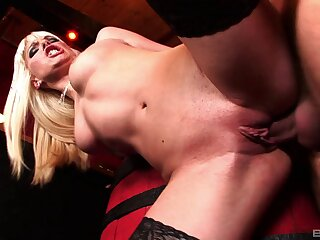 Gorgeous pretty good slut Lena Cova gets ass to mouth ending and loves redness