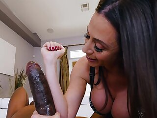 Amazing nude sexual congress with a BBC the breadth of her forearm