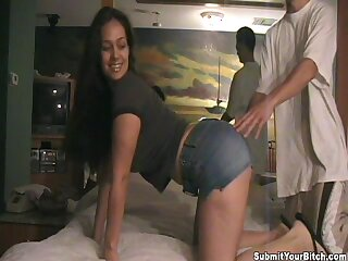 Sexy infant moans after a long time getting fucked hard in doggystyle. Homemade