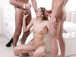 Nude slut hammered in triad scenes